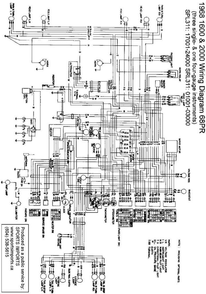 Morgan Roadster 3 7 Wiring Diagram